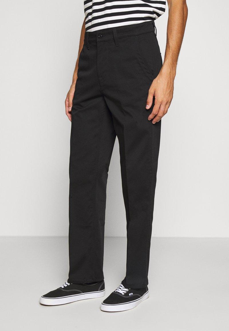 Nudie Jeans - LAZY LEO - Chino kalhoty - black