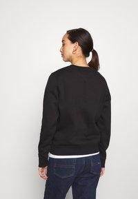 Tommy Jeans - REGULAR C NECK - Sweatshirt - black - 2