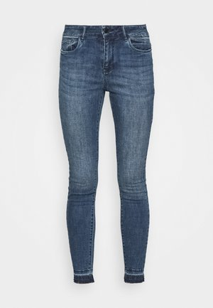 VMSEVEN ANKLE - Jeans Skinny Fit - dark blue denim