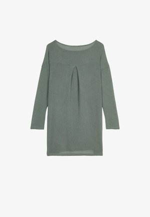 Jumper dress - light military