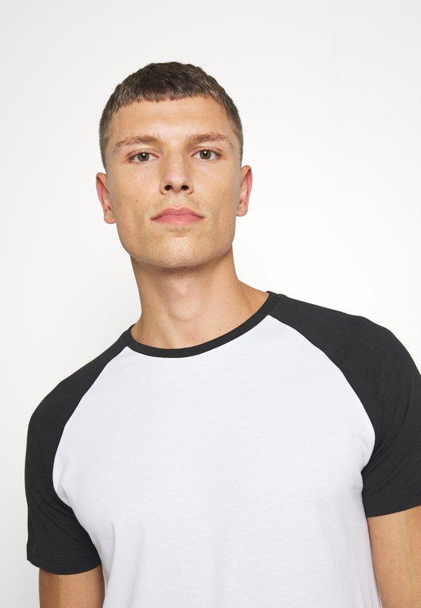 Pier One T-shirt basic - black/czarny Odzież Męska EELR