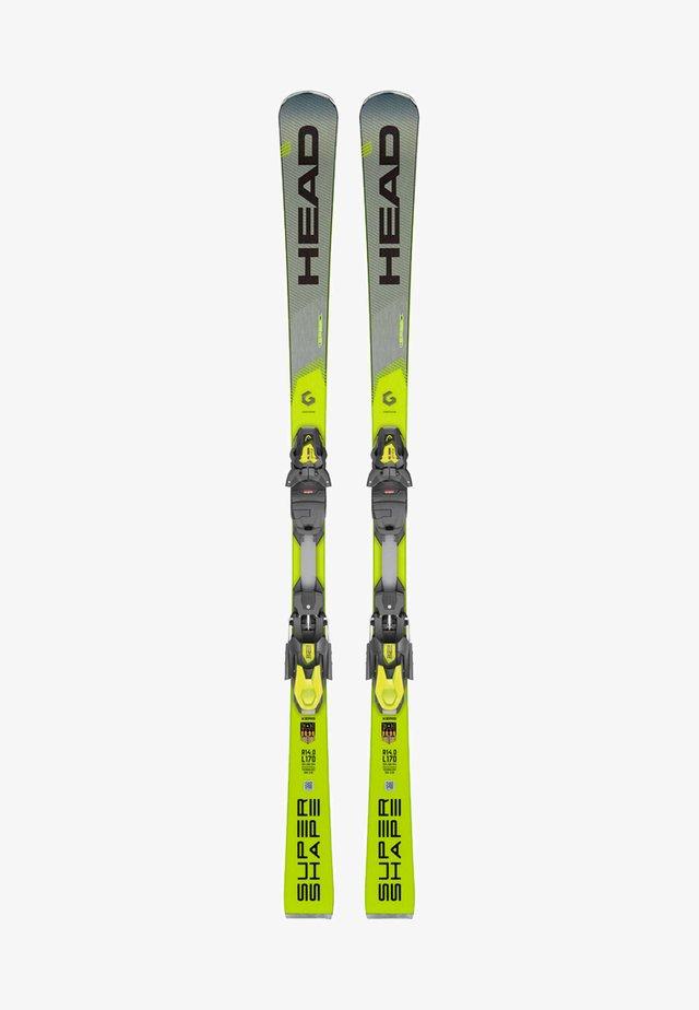 SUPERSHAPE I SPEED - Skiing - grey/yellow