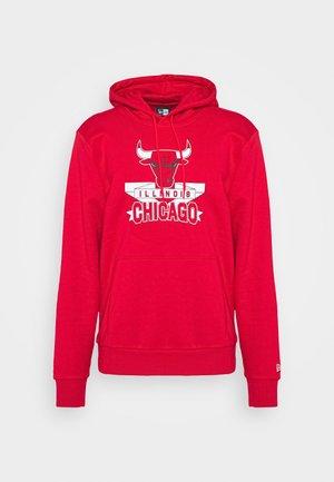 CHICAGO BULLS NBA GRAPHIC HOODY - Club wear - front door red