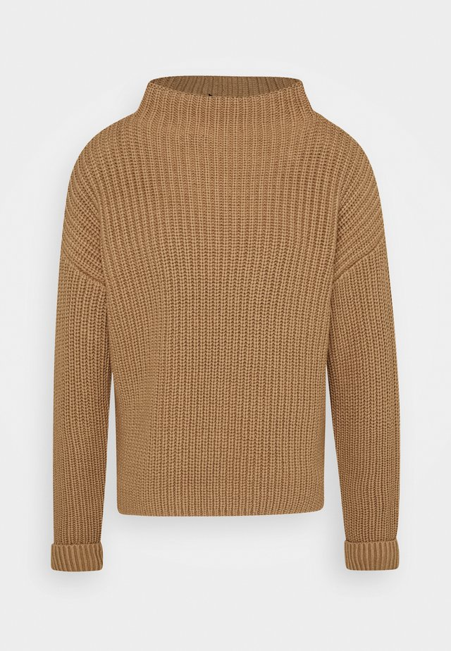 SLFSELMA NECK  - Pullover - beige