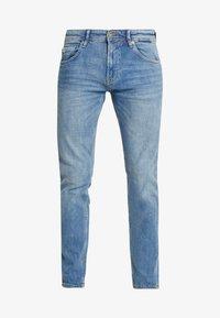 SLIM PIERS - Slim fit jeans - bright blue denim