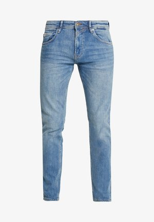 SLIM PIERS - Džíny Slim Fit - bright blue denim