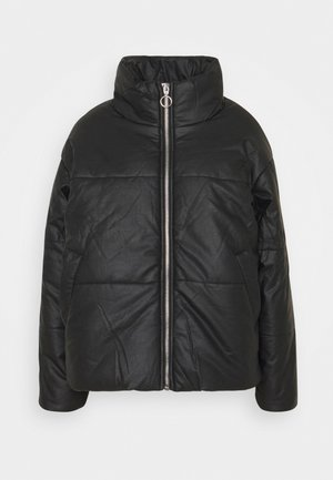 IVALI  - Faux leather jacket - black