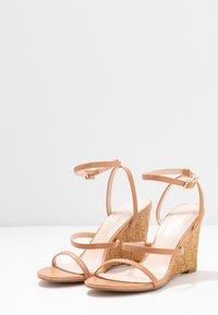 BEBO - BARTON - High heeled sandals - nude - 4