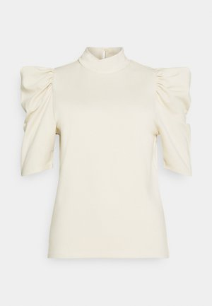 PCRYLEE  - Print T-shirt - fog