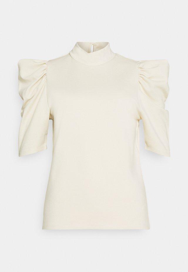 PCRYLEE  - T-shirts print - fog