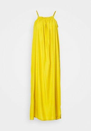 OBJBITTA LONG DRESS PETIT - Maxi dress - antique moss