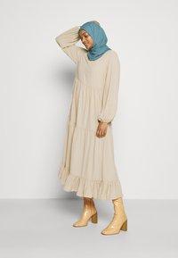 Glamorous - MODESTY TIERED MAXI DRESS - Maxi dress - soft peach - 2
