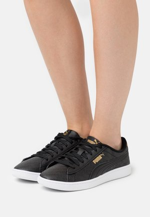 VIKKY - Sneakers laag - black/gold