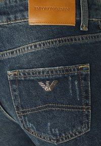 Emporio Armani - Straight leg jeans - denim blue - 2