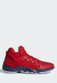 adidas Performance - D.O.N. ISSUE 2 - Basketball shoes - scarlet/team navy blue/gold metallic - 10