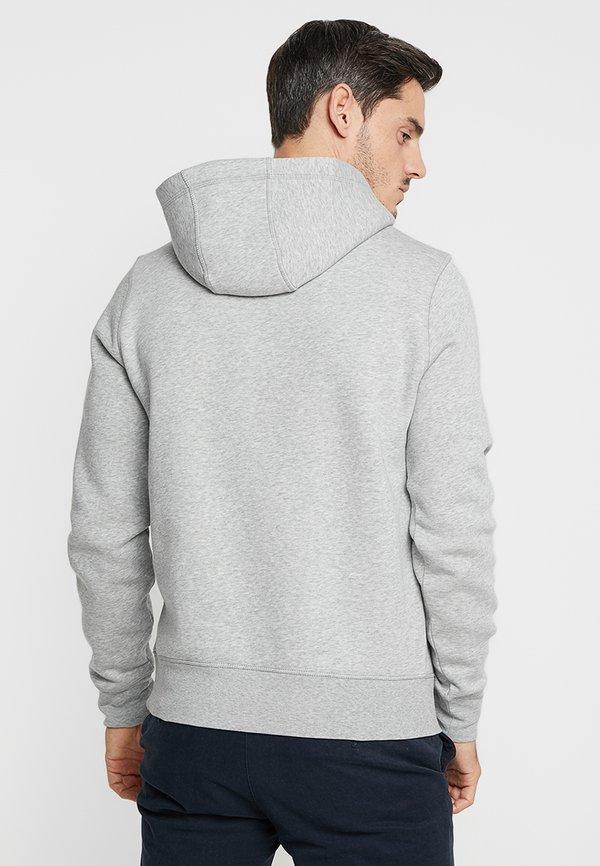 Tommy Hilfiger LOGO HOODY - Bluza z kapturem - grey/jasnoszary melanż Odzież Męska SQFF