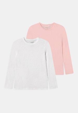 NKFTOP 2 PACK - Long sleeved top - barely pink