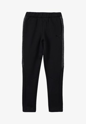 EVOSTRIPE PANTS - Tracksuit bottoms - black