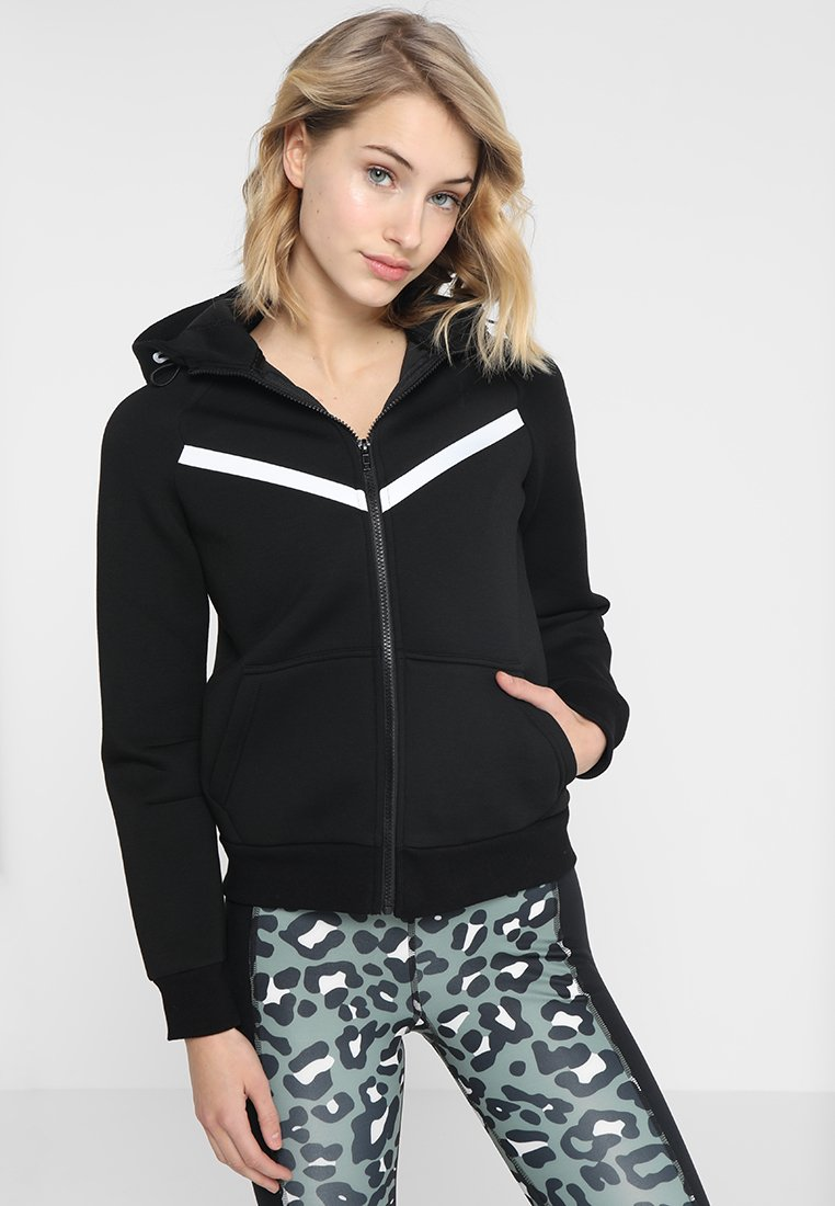 Even&Odd active - Mikina na zip - black