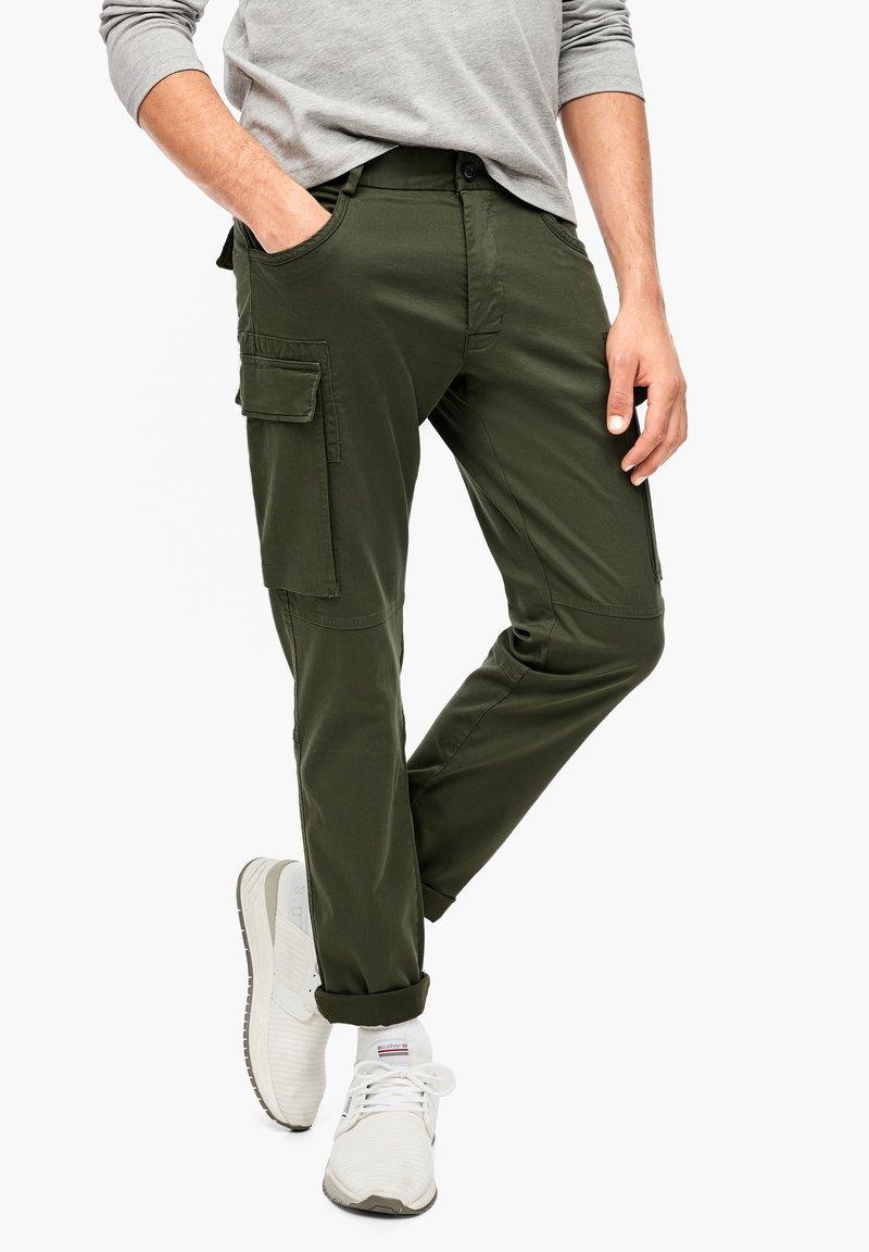 s.Oliver - Cargo trousers - khaki