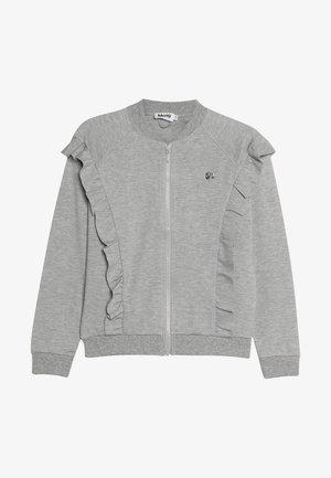 HERDIS - Cardigan - grey melange