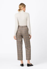 HALLHUBER - A PRINCE OF WALE - Trousers - multi-coloured - 2