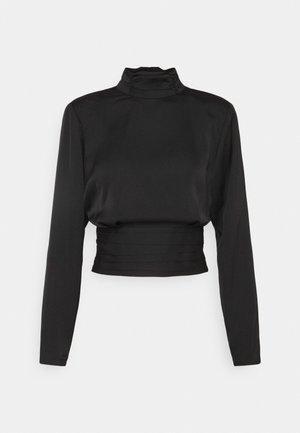 CASS OPEN BACK - Blouse - black