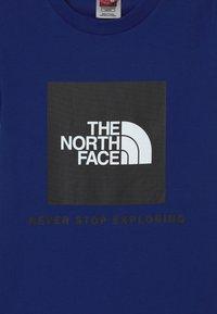 The North Face - BOX UNISEX - Print T-shirt - bolt blue - 2
