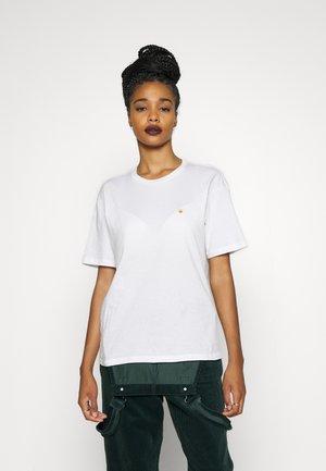 CHASE - Basic T-shirt - white