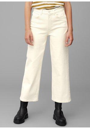 Trousers - multi/natural ecrue