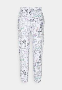 NEW girl ORDER - SCRIBBLE JOGGER - Tracksuit bottoms - white - 1