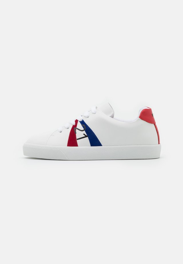 GYMNIC - Baskets basses - white/red/blue