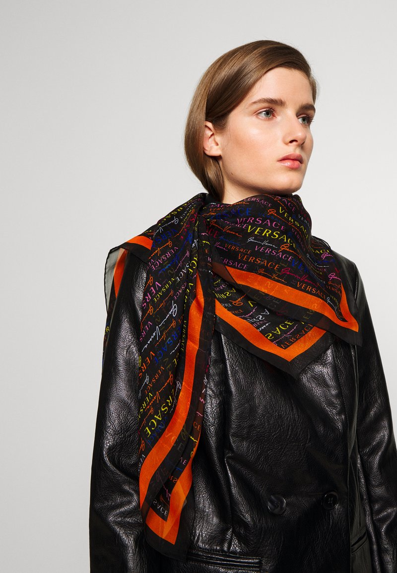Versace - SCIALLE - Foulard - nero/multicolor