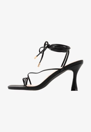 RICHIE - High heeled sandals - black