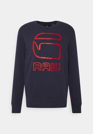 GRAPHIC GRAW R SW L\S - Sweatshirt - sartho blue