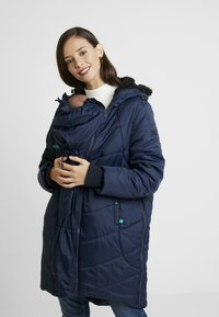Modern Eternity - HARPER THIGH COCOON PUFFER COAT - Winter coat - navy - 7