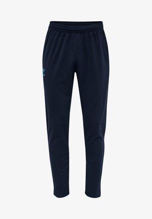 HMLACTION  - Pantalon de survêtement - black iris/atomic blue