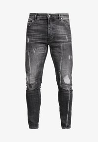 Tigha - BILLY THE KID - Slim fit jeans - mid grey - 4