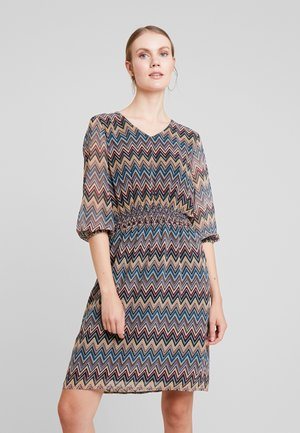 DRESS - Freizeitkleid - black multi