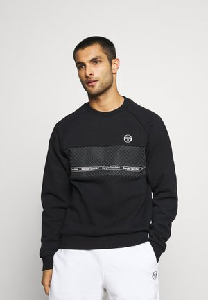 NORTY CREWNECK - Sweatshirt - black/silver