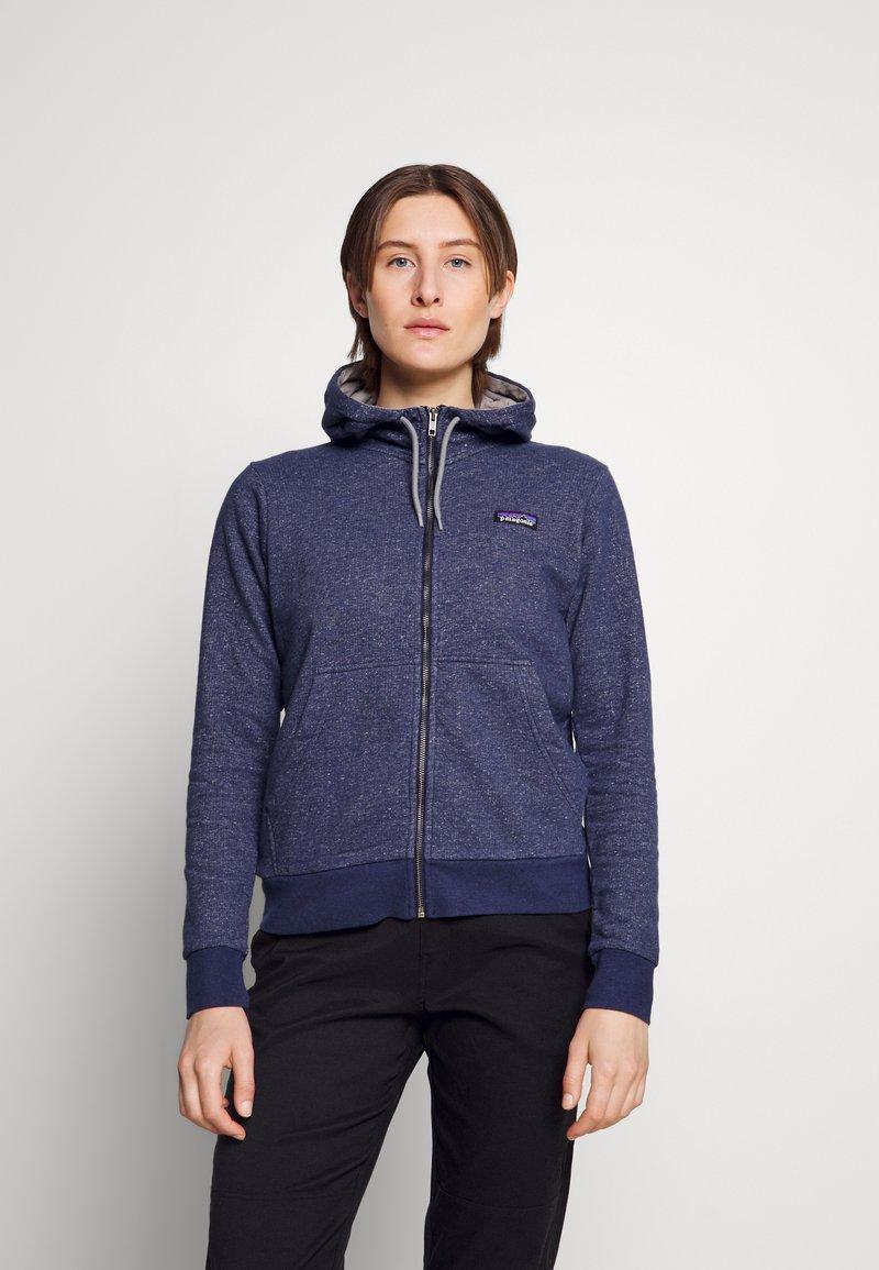 Patagonia - FULL ZIP HOODY - Zip-up sweatshirt - navy blue