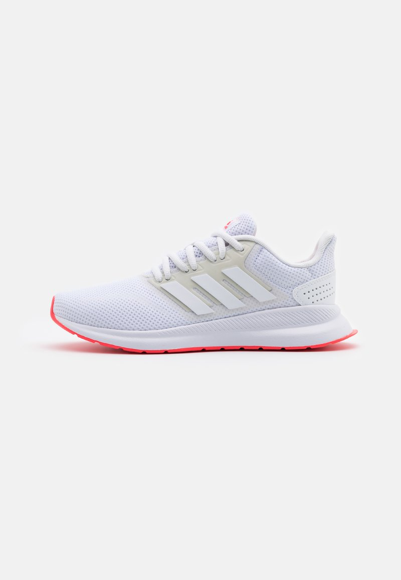adidas Performance - RUNFALCON - Neutral running shoes - footwear white/signal pink