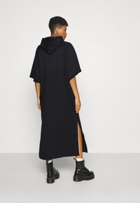 G-Star - LONG HOODED DRESS - Maxi dress - dark black - 2