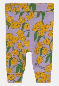 Mini Rodini - ALPINE FLOWERS  - Legging - purple - 1