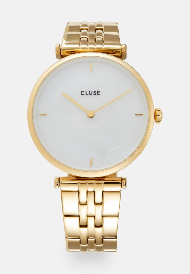 TRIOMPHE - Horloge - gold-coloured/white