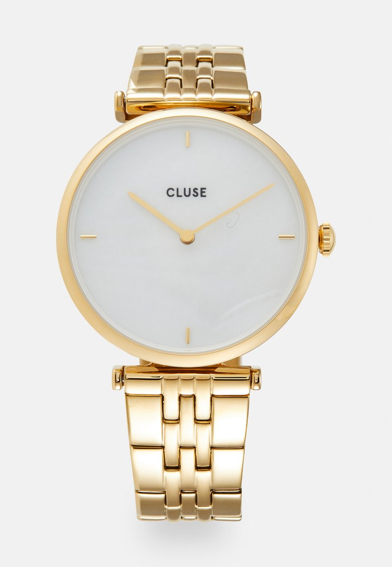 Cluse - TRIOMPHE - Horloge - gold-coloured/white