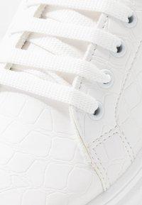 Topshop - CUBA TRAINER - Sneakersy niskie - white - 2