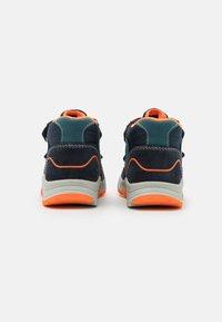 Lurchi - CHRISTIAN TEX - Classic ankle boots - dark navy/orange - 2