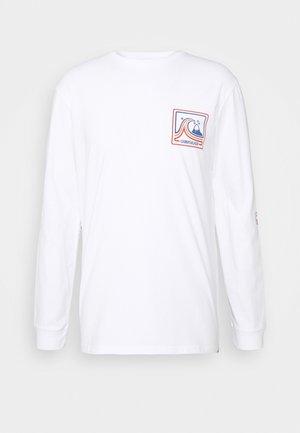 HIGHWAY VAGABOND - Maglietta a manica lunga - white