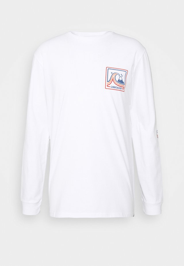 HIGHWAY VAGABOND - Long sleeved top - white